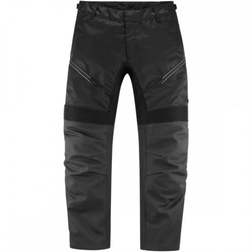Icon motoros nadrág bőr CONTRA2 LEATHER - BLACK