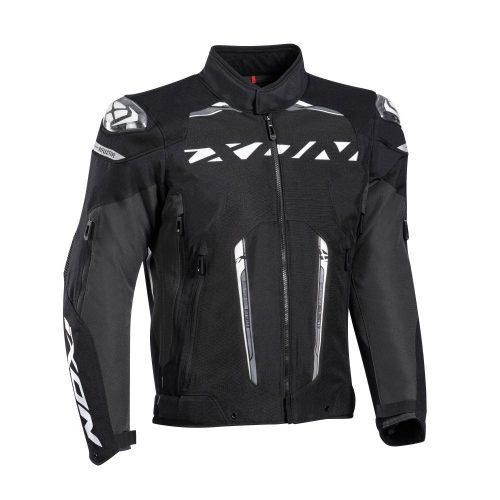 IXON Blaster motoros kabát - Black/White