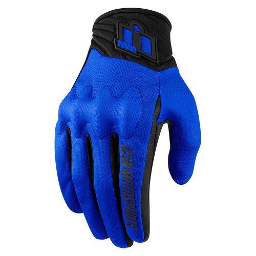 Icon motoros kesztyű ANTHEM 2 - BLUE