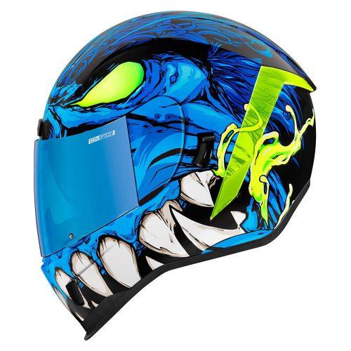 Icon Airform bukósisak MANIK'R - BLUE