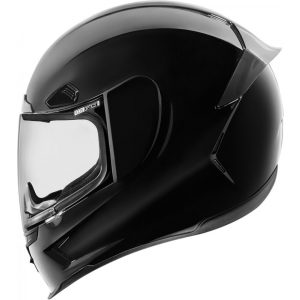 Icon bukósisak Airframe Pro Gloss - Black