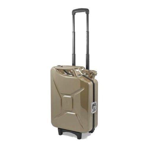 G-Case benzin kanna gurulós bőrönd 20L - Vintage Brown
