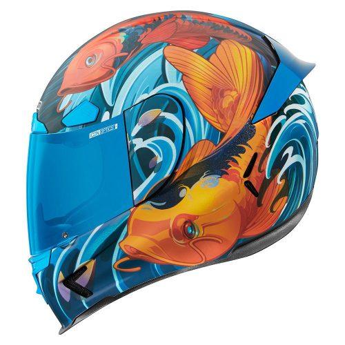 Icon AIRFRAME PRO bukósisak KOI - BLUE