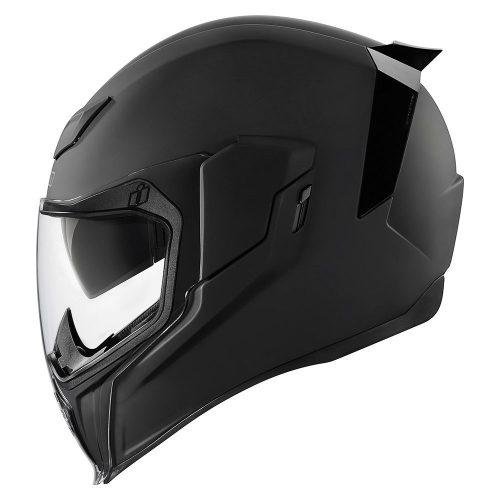 Icon bukósisak Airflite Rubatone - black
