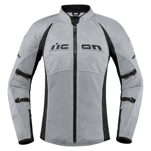 Icon női motoros kabát Contra2 - Grey