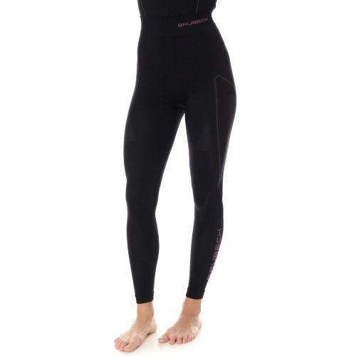 BRUBECK THERMO - Női motoros aláöltöző nadrág - Fekete