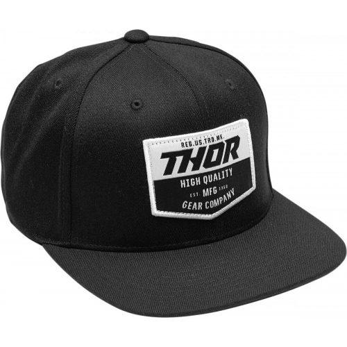 Thor sapka CHEVRON SNAPBACK BLACK