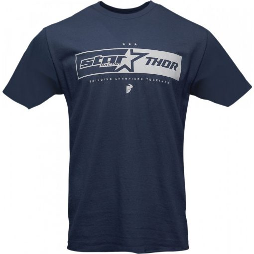 Thor férfi póló STAR RACING UNITE NAVY
