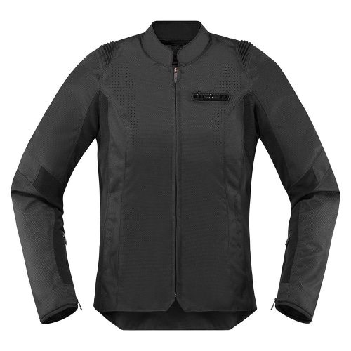 ICON női motoros kabát Overlord SB2 Stealth - Black