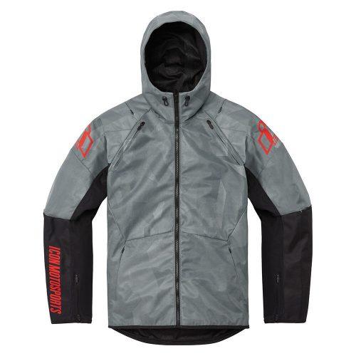 ICON motoros kabát AIRFORM BATTLESCAR - GRAY