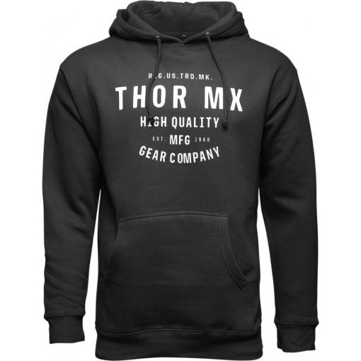 Thor férfi pulóver CRAFTED WINDBREAKER BLACK