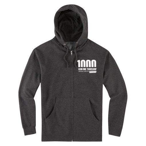 Icon 1000  Vertixal Hoody - Charcoal