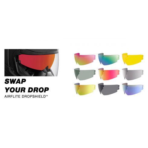 Icon AIRFLITE™ / AIRFORM™ / ALLIANCE GT™ DROPSHIELD bukósisak napszemüveg - több színben