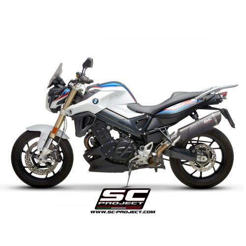SC-PROJECT KIPUFOGÓ | OVAL CARBON | BMW F 800 R (2009 - 2016)