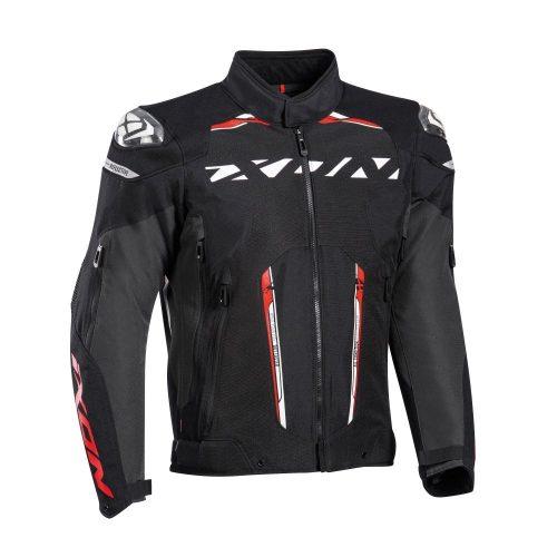 IXON Blaster motoros kabát - Black/White/Red
