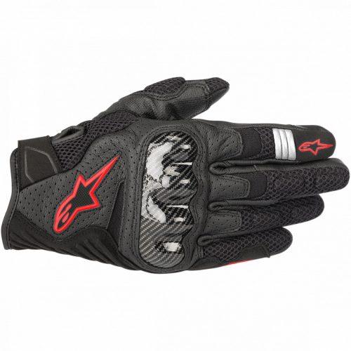 ALPINESTARS motoros kesztyű SMX-1 AIR V2 | BLACK/RED