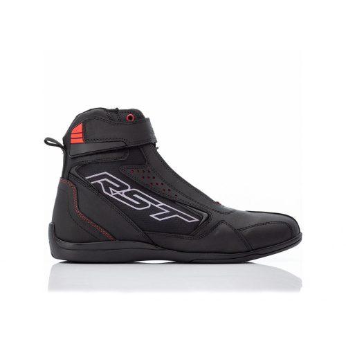 RST motoros cipő Frontier fekete / piros férfi