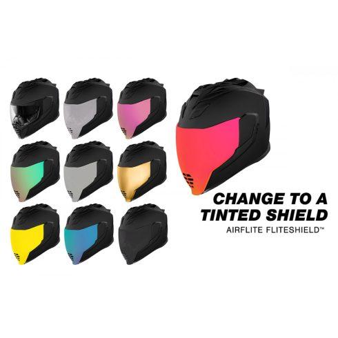 Icon AIRFLITE™ Flite Shield™ bukósisak plexi - több színben
