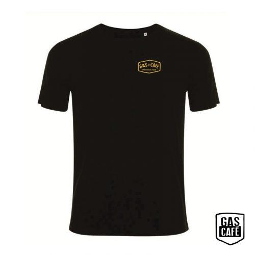 Gas&Cafe póló fekete