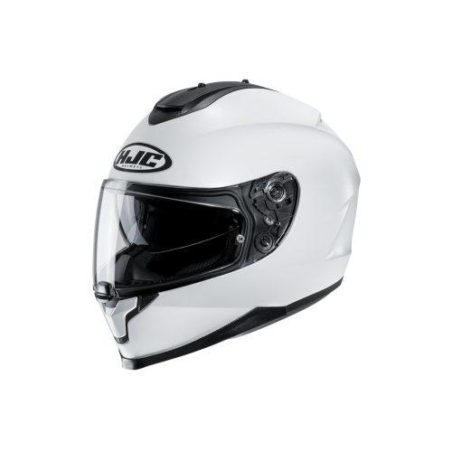 HJC bukósisak C70 X SOLID PEARL WHITE