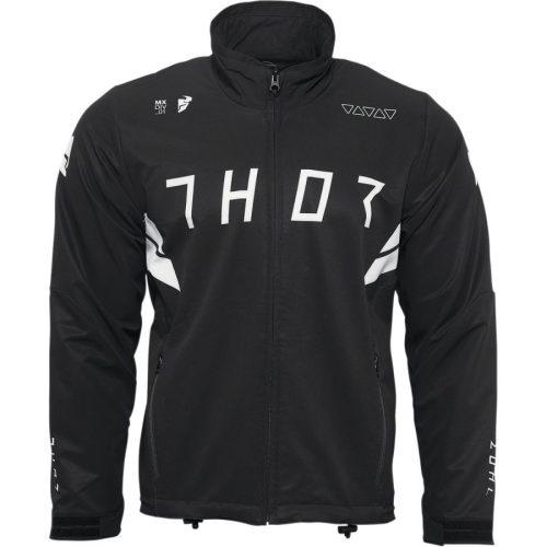 Thor férfi kabát  WARM UP - BLACK/WHITE