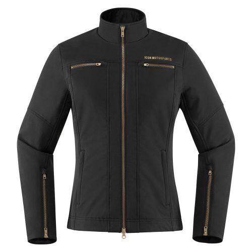 Icon női motoros kabát Hella2 - Black