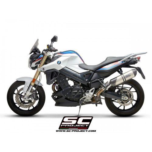 SC-PROJECT KIPUFOGÓ | OVAL TITANIUM | BMW F 800 R (2009 - 2016)