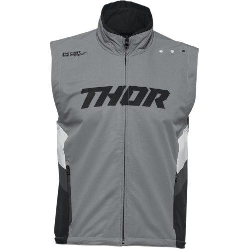 Thor férfi mellény WARM UP VEST - GRAY/BLACK