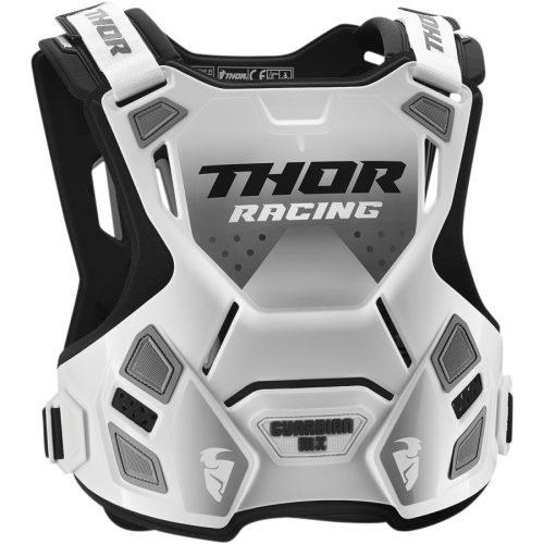 Thor GUARDIAN MX ROOST cross mellprotektor (fehér/fekete)