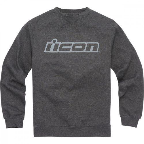 ICON SLANT CREWNECK pulóver