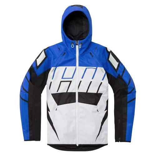 ICON motoros kabát AIRFORM RETRO - BLUE
