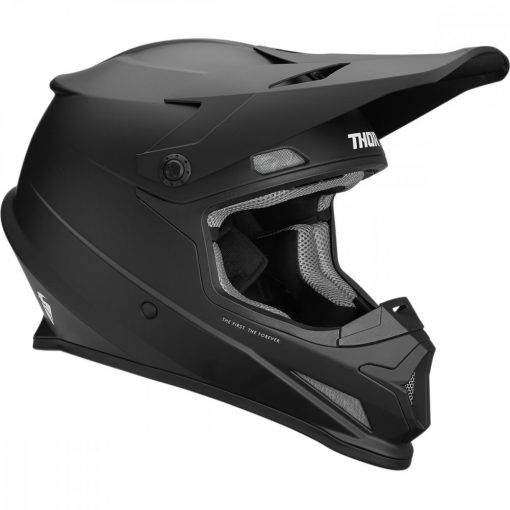 Thor SECTOR™ S9 OFFROAD bukósisak BLACK MATT