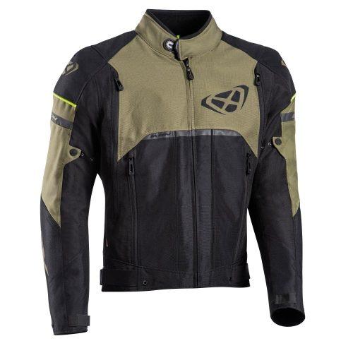 IXON Allroad motoros kabát - Black/Khaki
