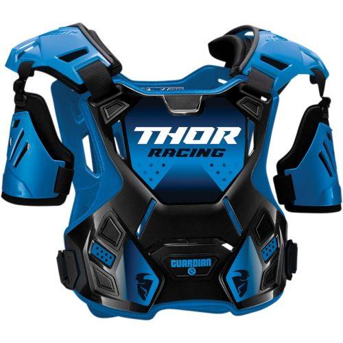 Thor GUARDIAN ROOST cross mellprotektor karvédővel (kék/fekete)