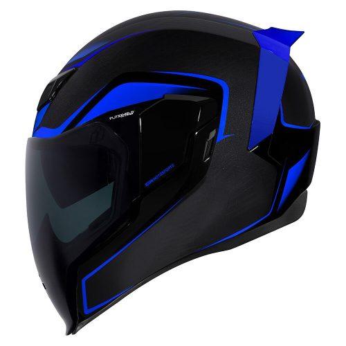 Icon AIRFLITE bukósisak CROSSLINK - BLUE