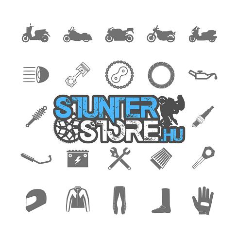 Motor takaró ponyva , size L , Polyester, blue/silver